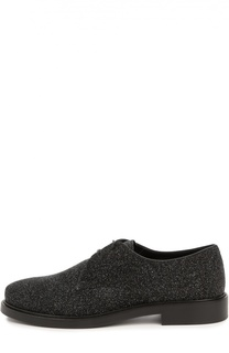 Кожаные ботинки Gomma с глиттером Tod's