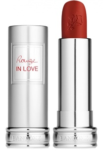 Помада для губ Rouge in Love, оттенок 185N Rouge Valentine Lancome