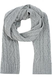 Вязаный шарф из шерсти и кашемира Moncler
