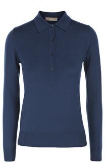 Шерстяной обтягивающий пуловер Cruciani