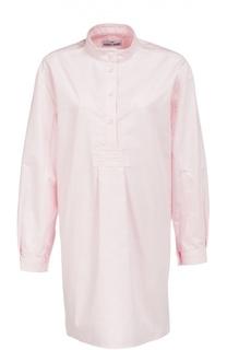 Хлопковая домашняя блуза в полоску The Sleep Shirt