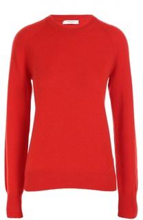 Кашемировый пуловер прямого кроя с круглым вырезом Equipment
