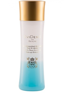 Двухфазное средство для удаления макияжа для кожи вокруг глаз и губ EviDenS de Beaute