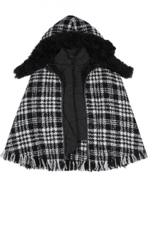 Пончо с курткой Dolce & Gabbana