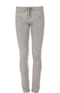 Кашемировые брюки с эластичным поясом и накладными карманами Back Label