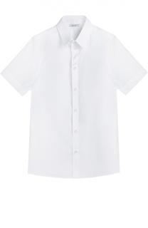 Хлопковая рубашка с коротким рукавом Dolce & Gabbana