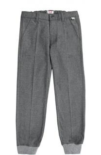 Классические брюки с манжетами Il Gufo