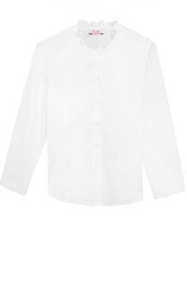 Блуза из эластичного хлопка Il Gufo