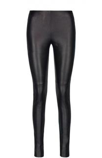 Кожаные брюки Lanvin