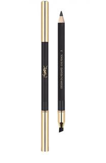 Водостойкий карандаш для глаз Dessin Du Regard, 03 Gris Lunatique YSL