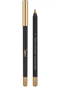 Карандаш Dessin Du Regard Waterproof, 05 Bronze Impertinent YSL
