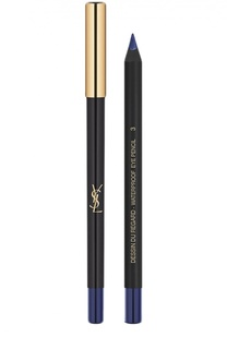 Карандаш для глаз Dessin Du Regard Waterproof, 03 Bleu Impatient YSL