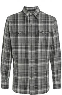 Хлопковая рубашка с нагрудными карманами Polo Ralph Lauren