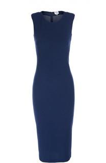 Платье-футляр без рукавов с круглым вырезом Armani Collezioni