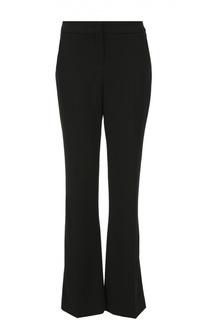 Шерстяные расклешенные брюки с карманами Escada