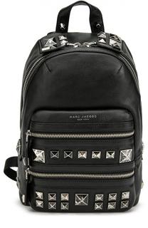 Кожаный рюкзак Recruit Chipped Studs с металлическими шипами Marc Jacobs