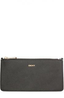 Кожаная сумка Bryant Park на цепочке DKNY