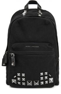 Рюкзак Canvas с металлическими шипами Marc Jacobs