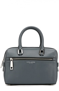 Кожаная сумка West End Small Leather Bauletto Marc Jacobs