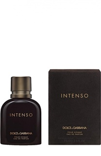 Парфюмерная вода Pour Homme Intenso Dolce & Gabbana