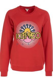 Хлопковый свитшот с вышивкой Nagai Star Kenzo
