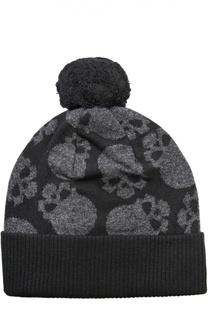 Шерстяная шапка с принтом Gemma. H
