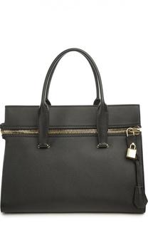 Кожаная сумка-тоут Tom Ford