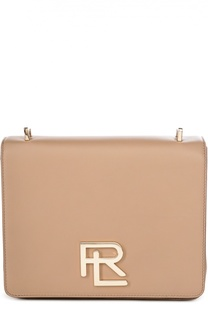 Кожаная сумка RL Ralph Lauren