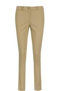 Шерстяные брюки-дудочки Michael Kors