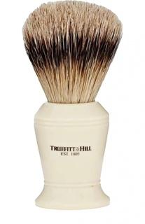 Кисть для бритья, Ворс серебристого барсука / Слоновая кость с серебром / Carlton Truefitt&Hill Truefitt&Hill