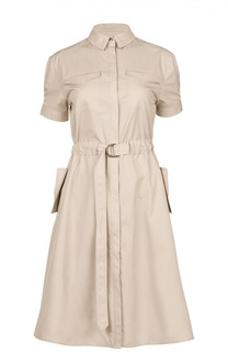 Платье с поясом Burberry Brit