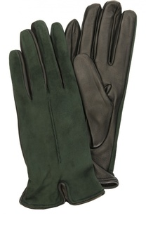 Перчатки из замши и кожи Sermoneta Gloves