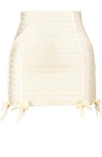Эластичная юбка-корсет на молнии Bordelle