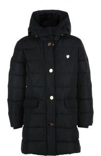 Пальто с капюшоном Giorgio Armani