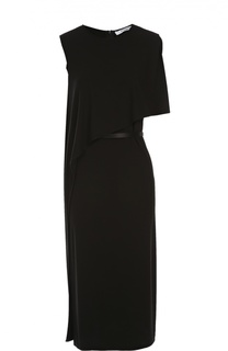 Платье асимметричного кроя с ремнем Givenchy