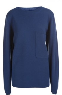 Кашемировый свитер свободного кроя с карманом Chloé
