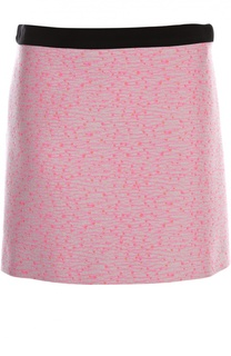 Мини-юбка из жаккарда Balenciaga
