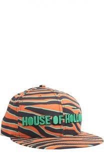 Кепка с принтом House Of Holland