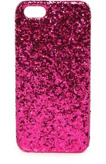 Чехол для iPhone SE/5s/5 с глиттером Saint Laurent