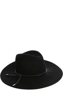 Шляпа из шерсти с кожаным шнурком Emilio Pucci