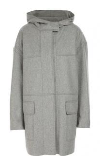 Шерстяное пальто с капюшоном Isabel Marant Etoile