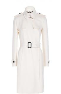 Кашемировое пальто с поясом Burberry