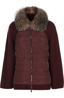 Вязаная куртка Moncler