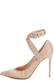 Лаковые туфли Love Latch с ремешком Valentino