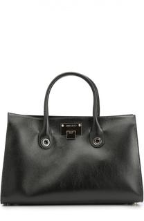 Кожаная сумка-тоут Riley Jimmy Choo