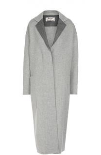 Удлиненное пальто прямого кроя со спущенным рукавом Acne Studios