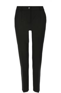 Укороченные брюки прямого кроя с карманами Dolce & Gabbana