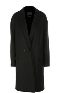 Двубортное пальто со спущенным рукавом Isabel Marant