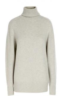 Кашемировый свитер свободного кроя с высоким воротником Chloé