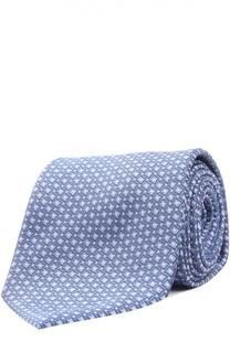 Шелковый галстук в клетку Prince of Wales Brioni